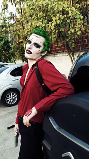 The Joker -Suicide Squad: Are ya sweet talkin' me?