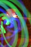 Green and Blue Swirls