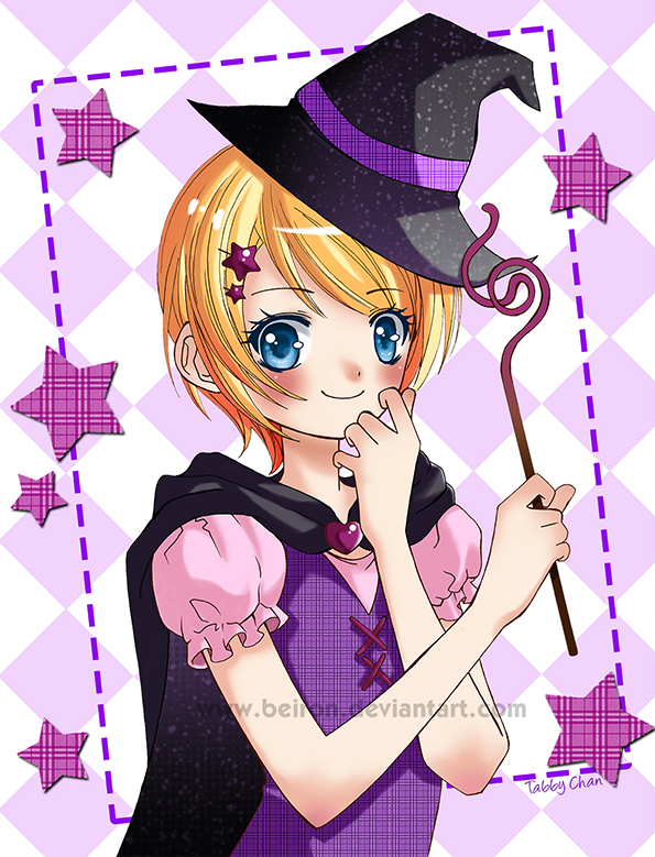Eloise Halloween with colors by beiron