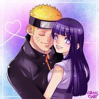Naruto and Hinata by iamtabbychan