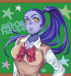 Widowmaker school uniform