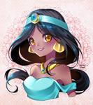 Princess Jasmine by iamtabbychan