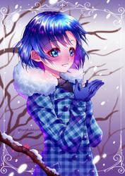 Sailor Mercury Winter by iamtabbychan
