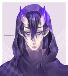 Purple by iamtabbychan