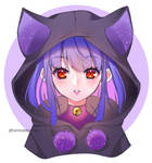 65 - Random girl with a hoodie