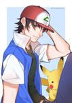 75 - Ash and Pikachu