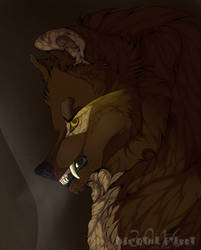 Angered - YCH Commission by Kairyos