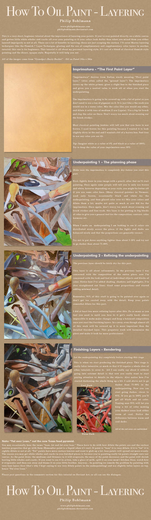 How to Oil Paint - Layering by PhilipBohlmann