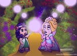 Ozma and Glinda