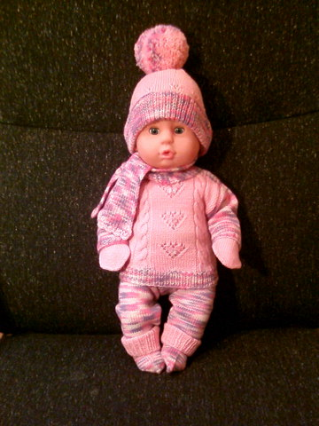 Pink Suit for Dolls by ToveAnita