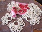 Crocheted Rings for Napkins