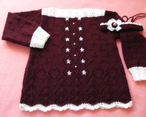 Wool Sweater and Hairband for Toddler