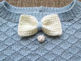 Detail of Wool Sweater for Toddler