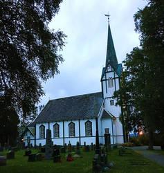 Beautiful Skatval Church by ToveAnita