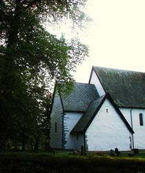 Beautiful Vaernes Church by ToveAnita