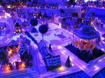 Gingerbread Bergen Centre by ToveAnita
