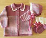 Wool Baby Set by ToveAnita