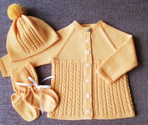 Wool Baby Set