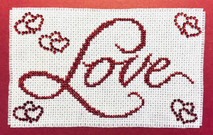 Cross-stitch Love