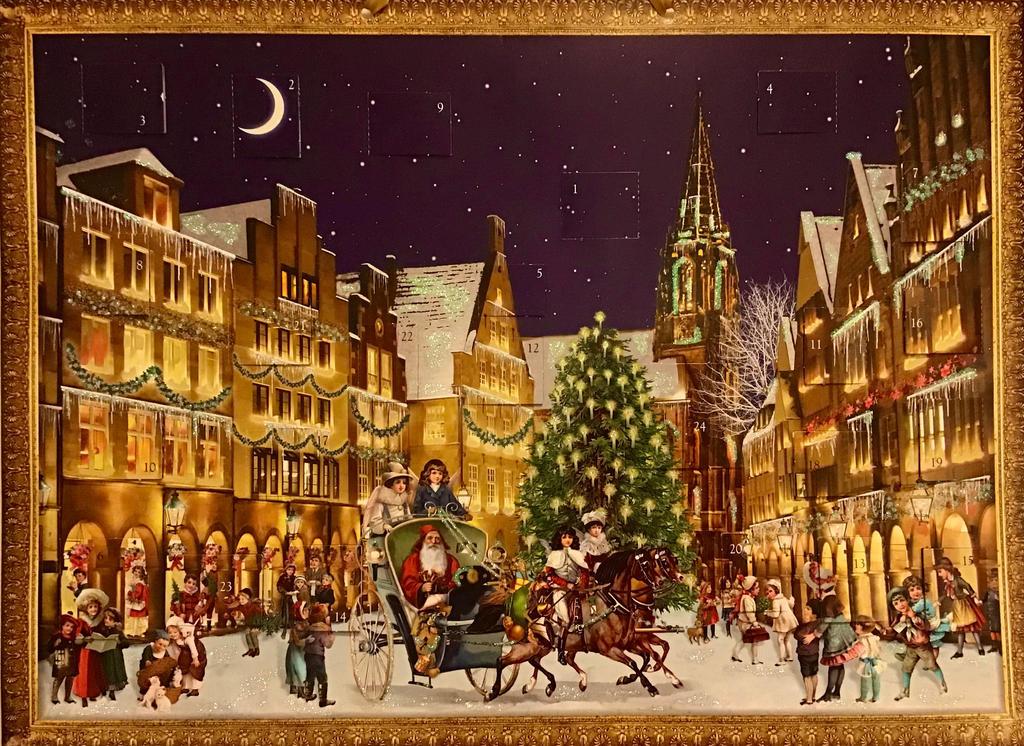 The First of December - My Advent Calendar