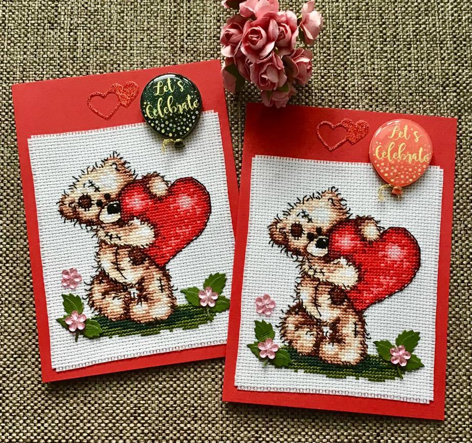 Cross-stitch Birthday Cards