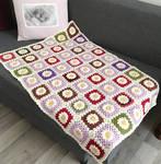 Wool Daisy Blanket by ToveAnita