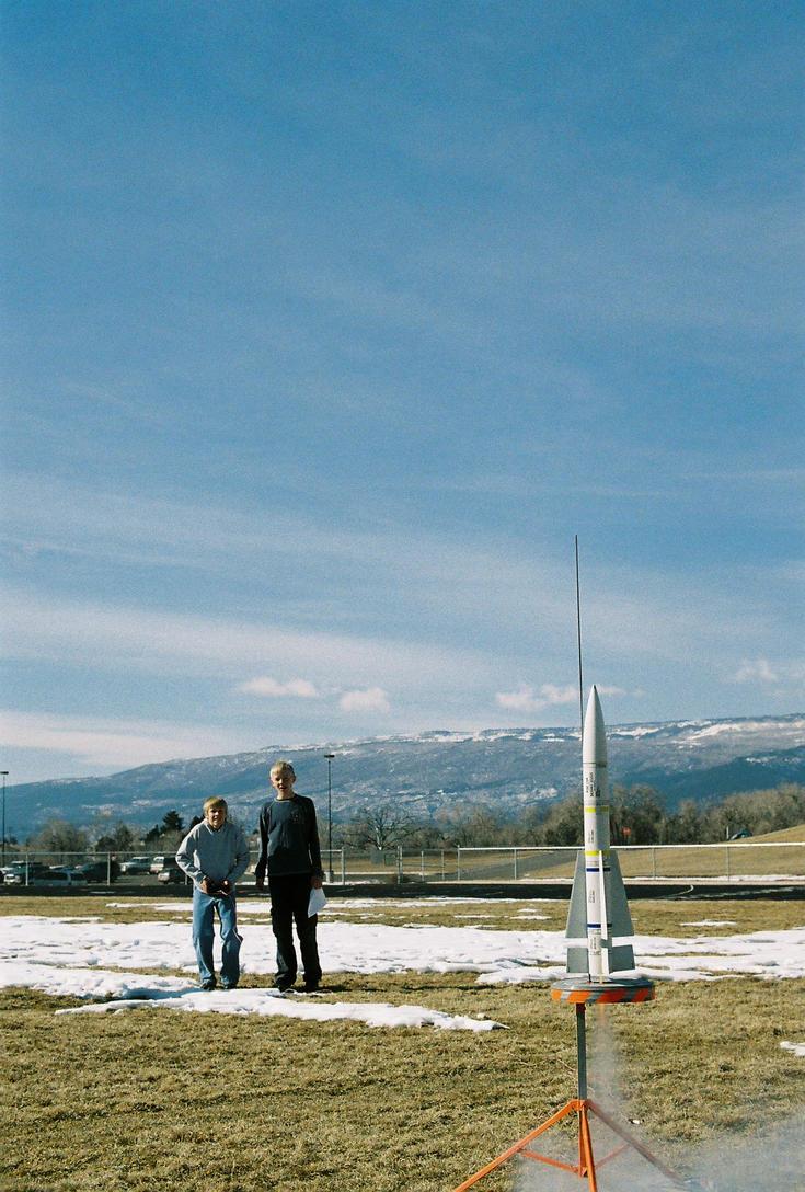 Speech Class Rocket Launch 2 by lancehunter17