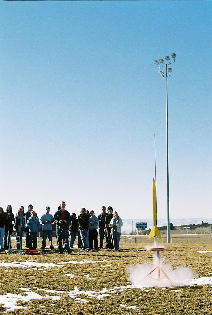 Speech Class Rocket Launch 4 by lancehunter17