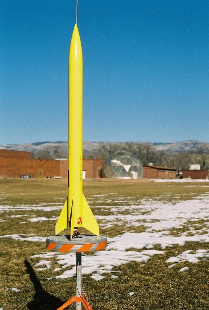 Speech Class Rocket Launch 5 by lancehunter17