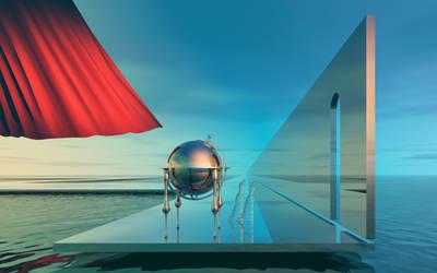 'Blue Day Globe...' by kolja7t