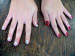 Fullmetal Alchemist nail art
