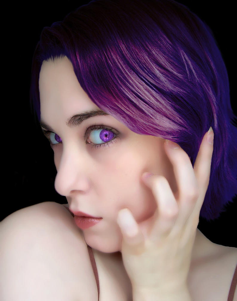 Color Me Violet by TwinkleCarnage