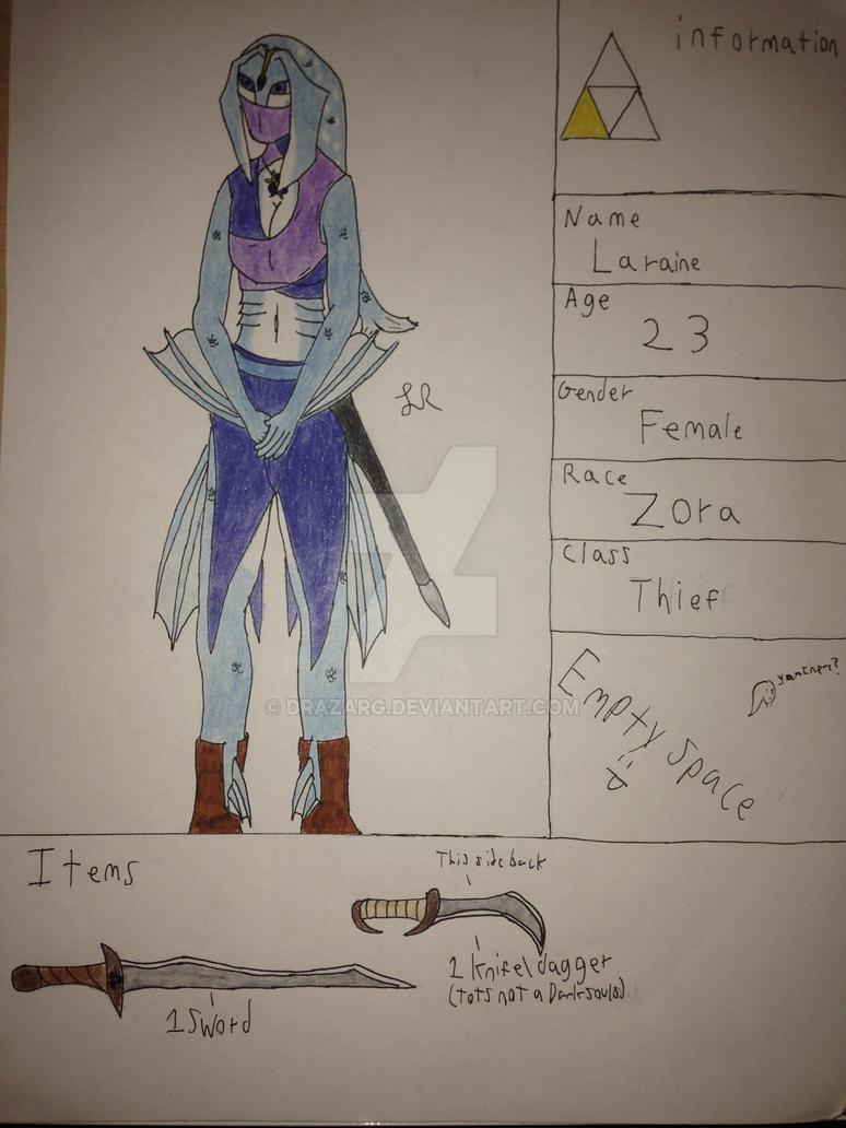 FoH- Laraine Teh Thief by drazarg