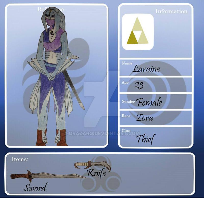 FoH- Laraine The Thief by drazarg