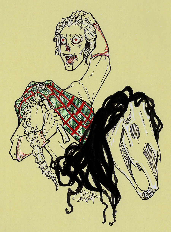 Headless Horseman by sadademort
