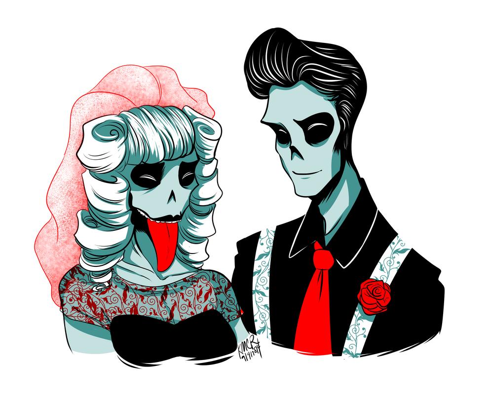 zombie wedding by sadademort