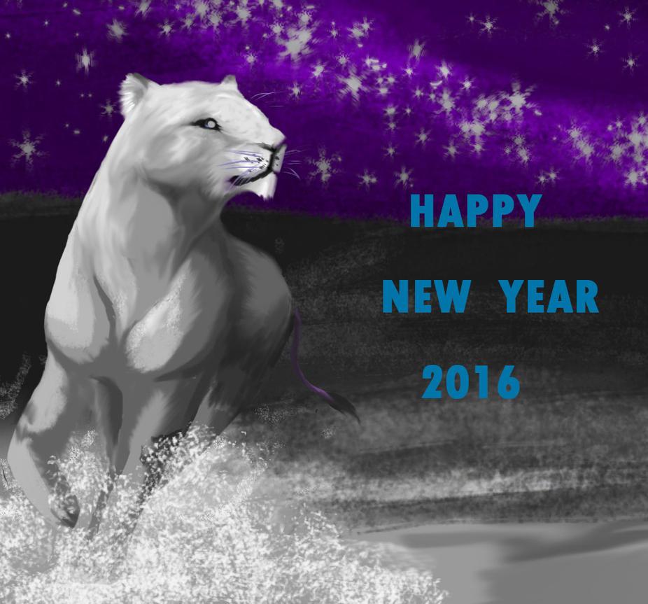 Happy New Year 2016 by HeiXieXun