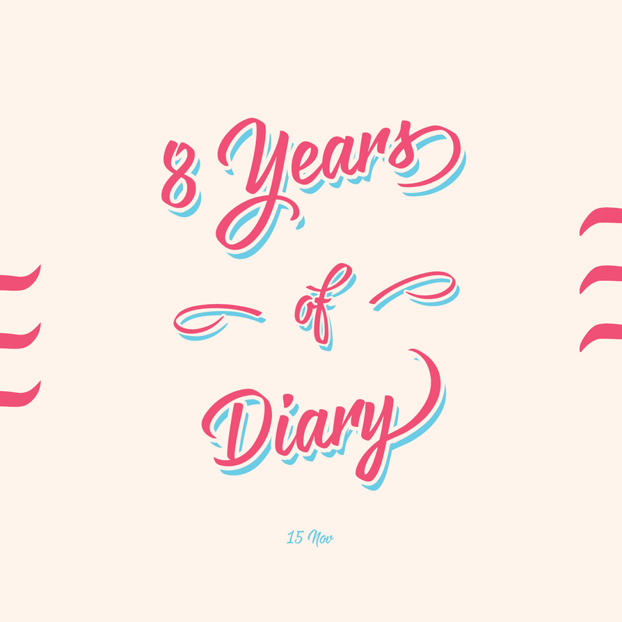 Avatar for the 8th year of diary by zuyetawarmatik