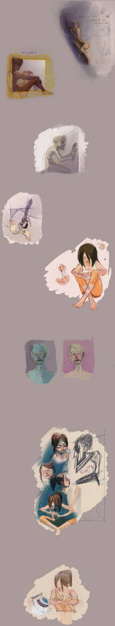 Exile/Vilify sketchs