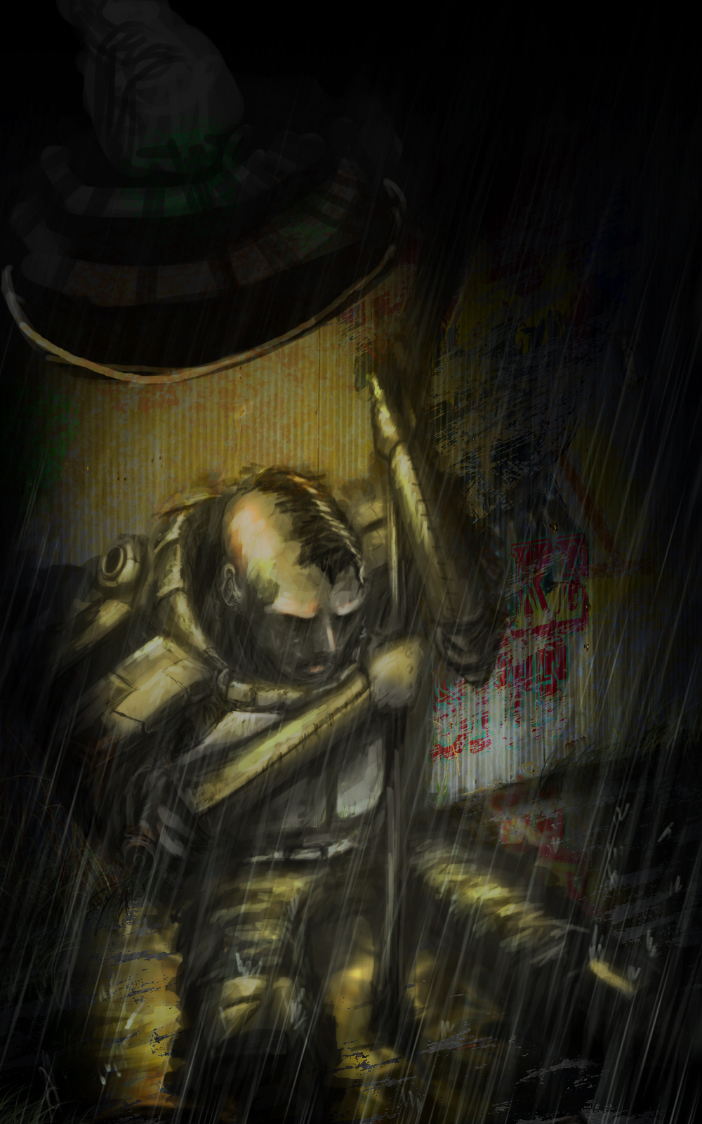 (Rain)Riot Suppression by cksghdishfwk