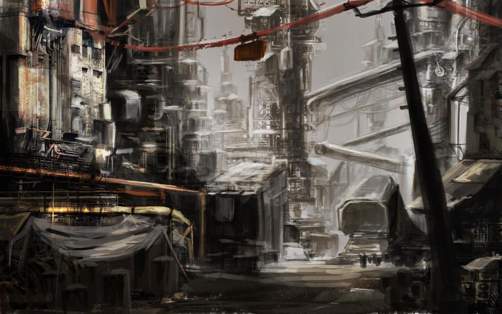 Ruin by cksghdishfwk
