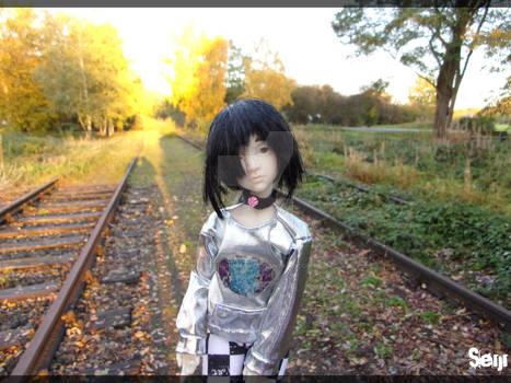 Between railways