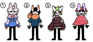 (CLOSED) - OFF inspired adopts p22