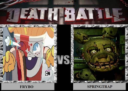 Death Battle - Frybo V.S. Springtrap