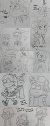Scraps of Gravity Falls by MeeeLifer