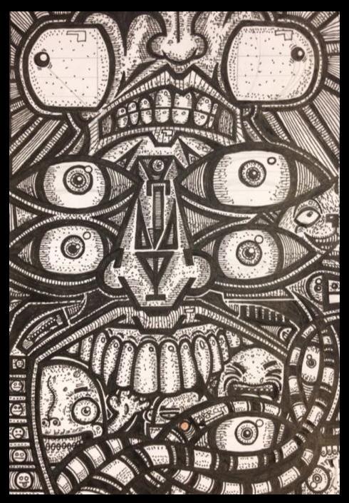 Paper Cut by kylebjart