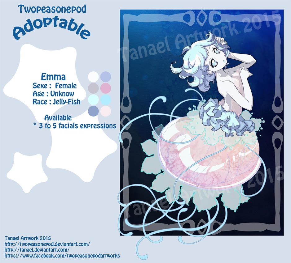 Emma - Adoptable 2015-10-06 by twopeasonepod