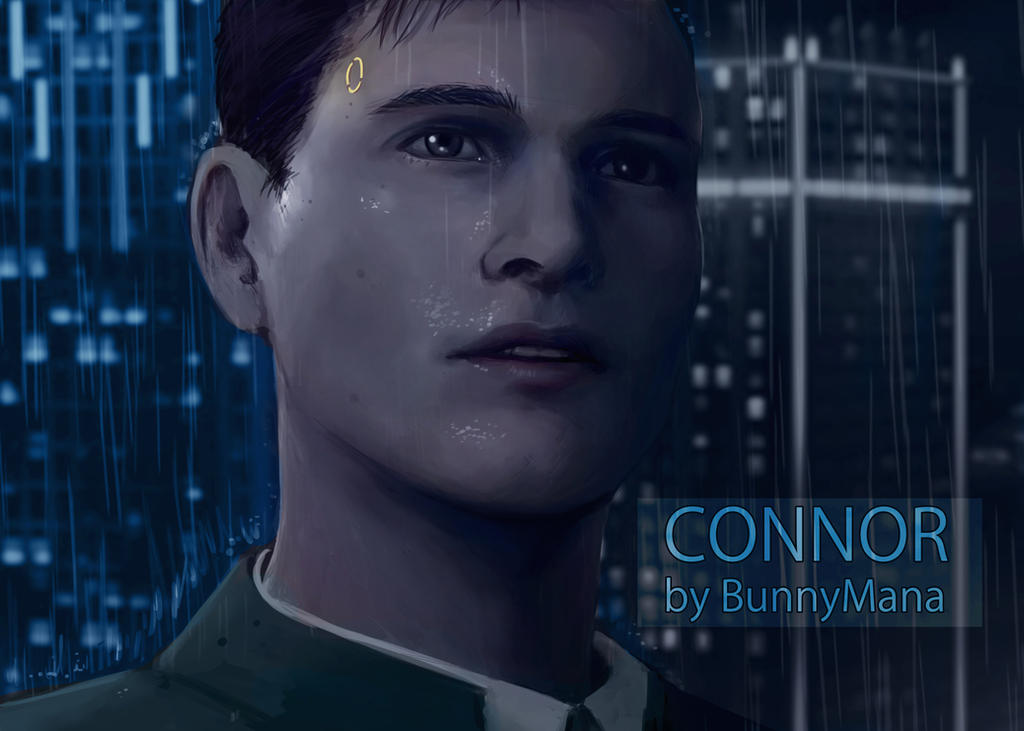 Connor study by BunnyMana