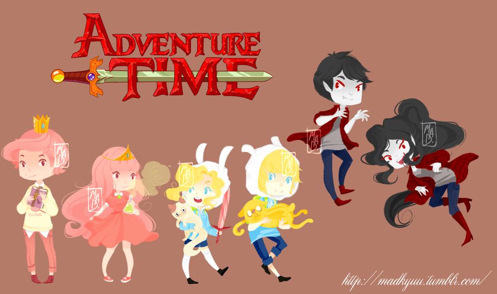 remake adventure time chibi by sekainokyuu