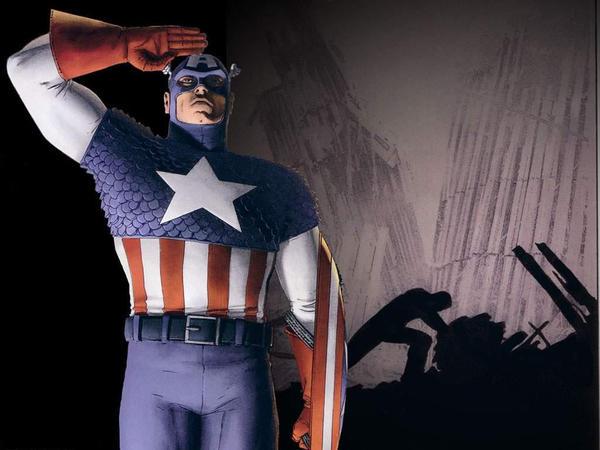 Captain America on 9-11 by VampireLyokoWarrior